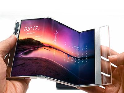 酷炫拽!三星展示下一代折叠技术,科技照亮未来,未来变成现实
