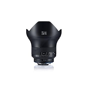 全新机卡尔·蔡司Milvus 15mm f/2.8 ZE