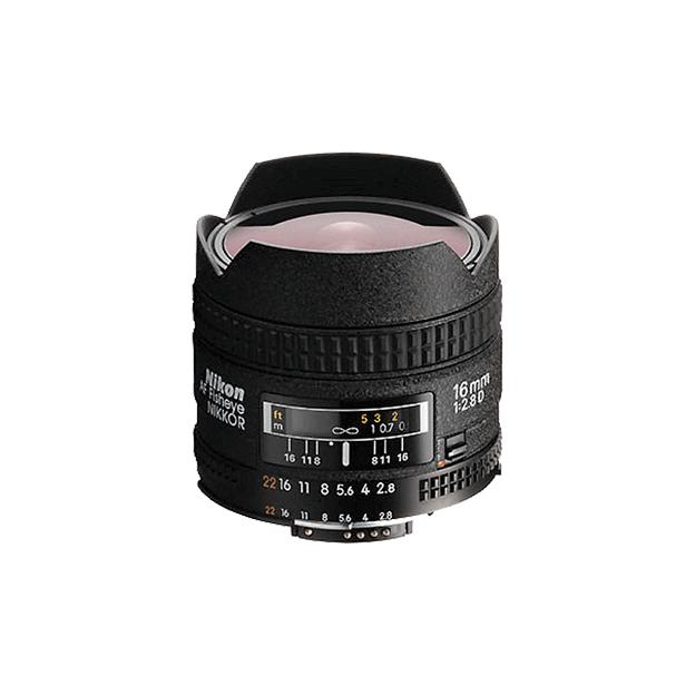 尼康AF Fisheye 16mm f/2.8D 不分版本