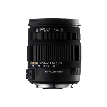 适马18-50mm f/2.8-4.5 DC OS HSM(佳能卡口) 不分版本