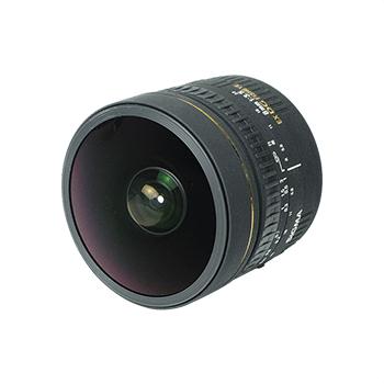 适马8mm f/3.5 EX DG Circular Fisheye(佳能卡口) 不分版本