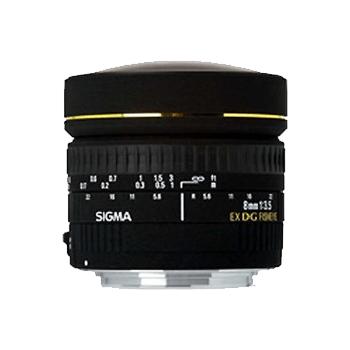 适马8mm f/3.5 EX DG Circular Fisheye(尼康卡口) 不分版本