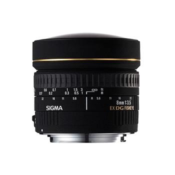 适马8mm f/3.5 EX DG Circular Fisheye(索尼口) 不分版本