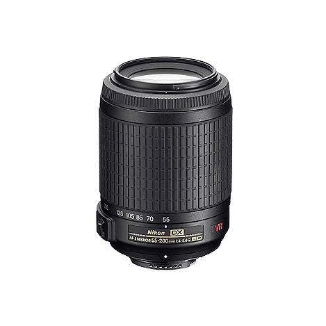 尼康AF-S DX 尼克尔 55-200mm f/4-5.6G IF-ED VR 不分版本
