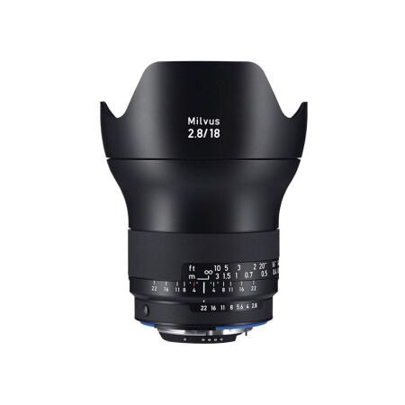 卡尔·蔡司Milvus 18mm f/2.8 ZF.2 不分版本